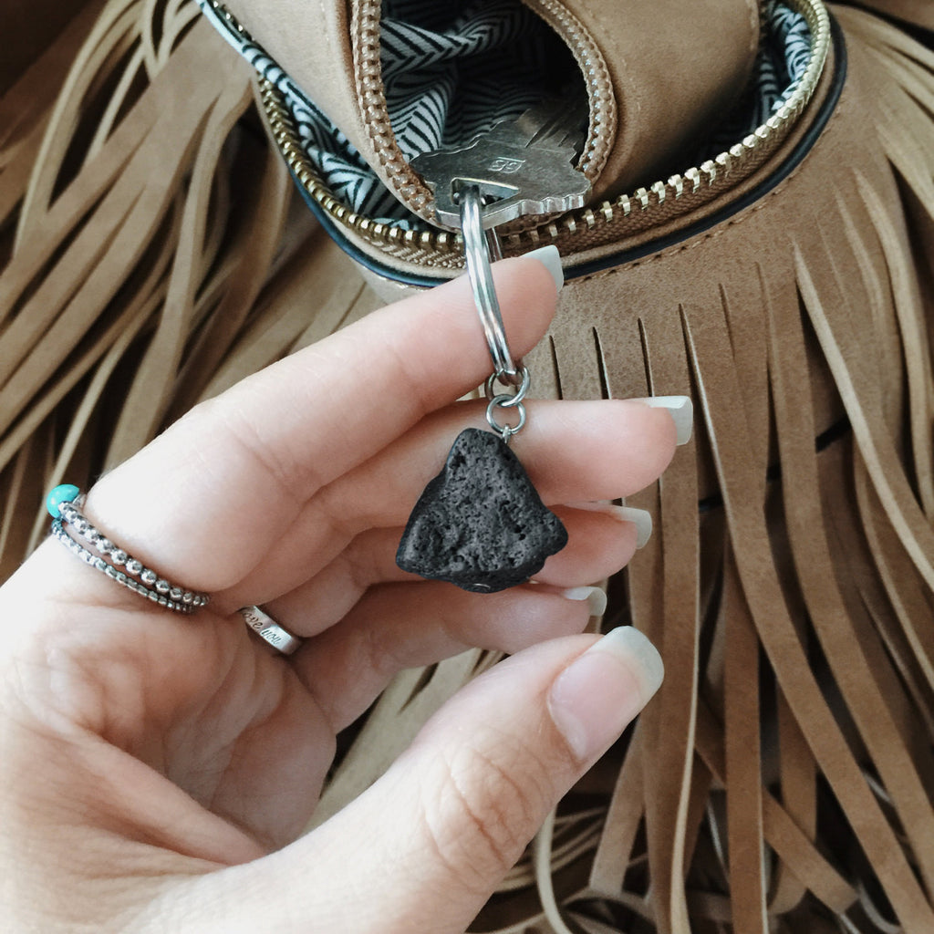 Lava Nugget Keychain - Lava Essential Oils