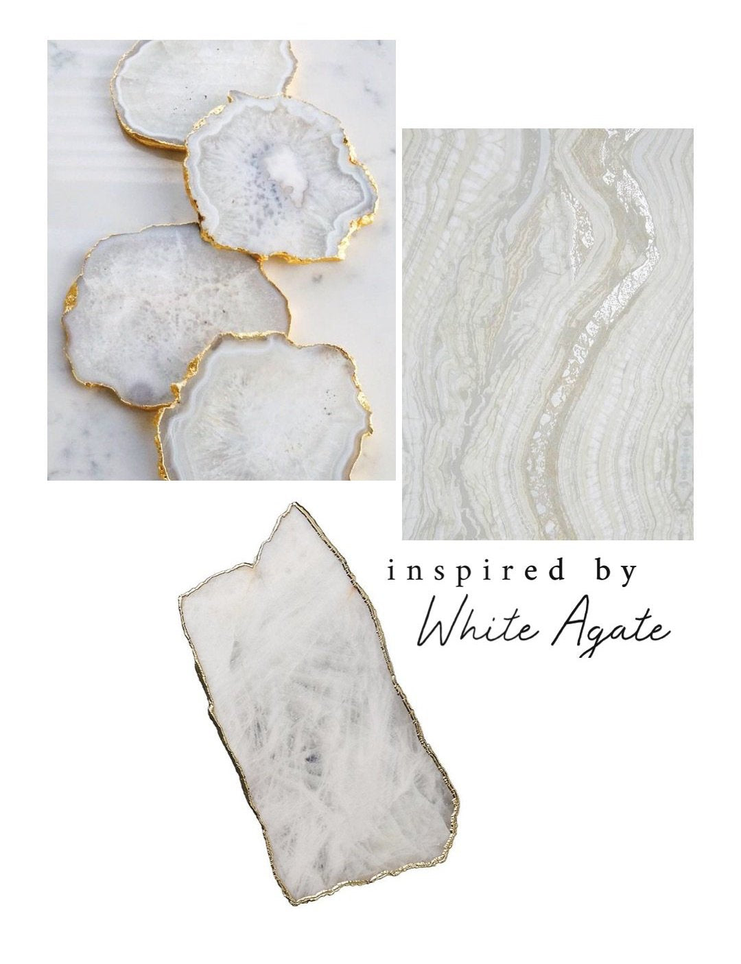 One-of-a-kind Crystal Point Essential Oil Holder • inspired by White Agate (008) - Lava Essential Oils