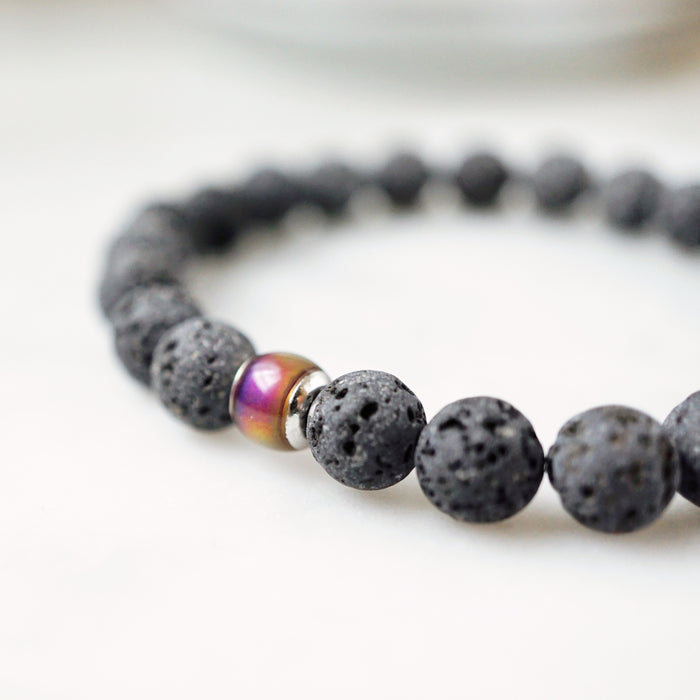 "Thermo-sensitive ""Mood"" Bead Aromatherapy Bracelet"