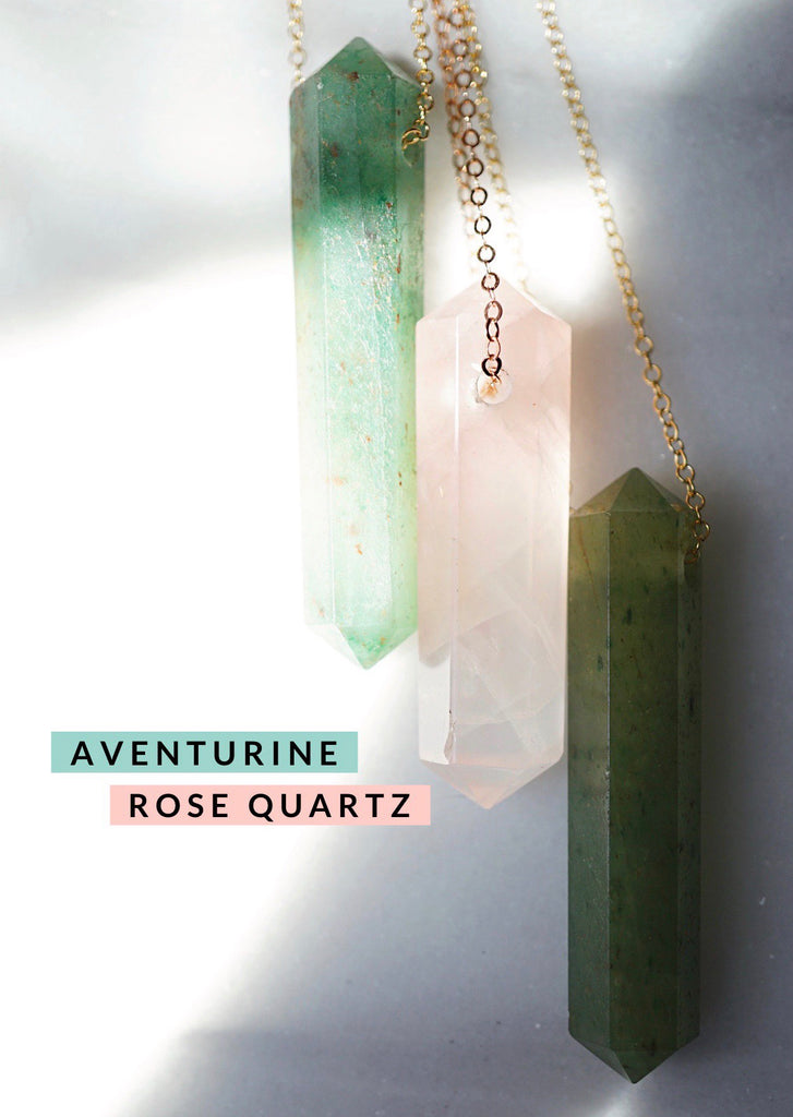 Aventurine Infinity Aroma Necklace - Lava Essential Oils