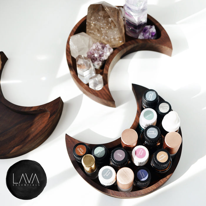 Walnut Moon Tray - Lava Essential Oils