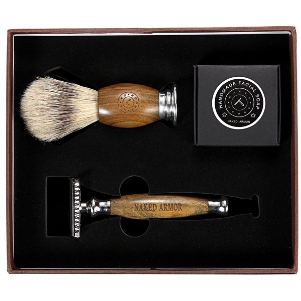 Wet Shave Kit Safety Razor
