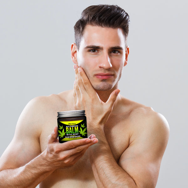 Aftershave All-Purpose Balm With Hemp