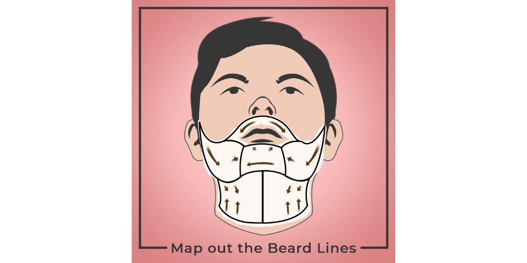 Map out the Beard Lines