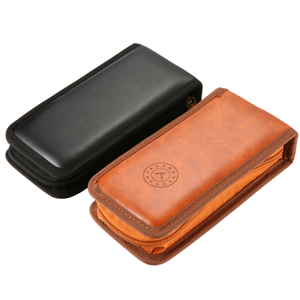 Travel Razor Case | Brown