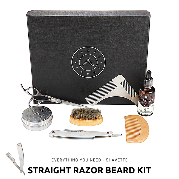 Beard Grooming Kit + Shavette