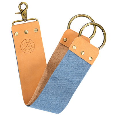 Blue EEL Strop (Brown)