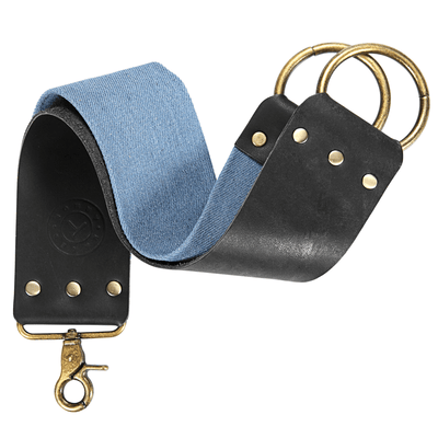 Blue EEL Strop (Black)