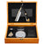 Gold Stainless Steel Straight Razor Kit | King Arthur