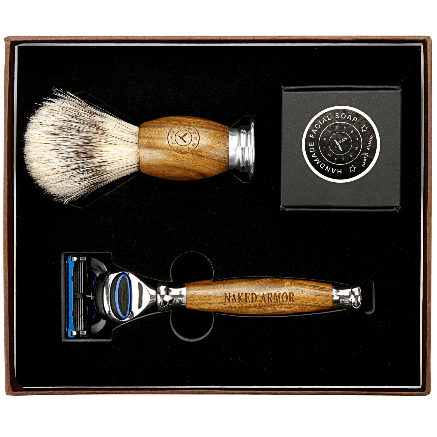 Spartan Brazilian Sandalwood - Wet Shaving Kit