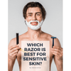 Which Razor Is Best For Sensitive Skin?