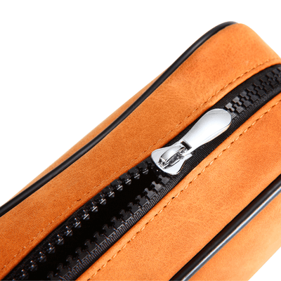 Lionel Leather Razor Case Zipper