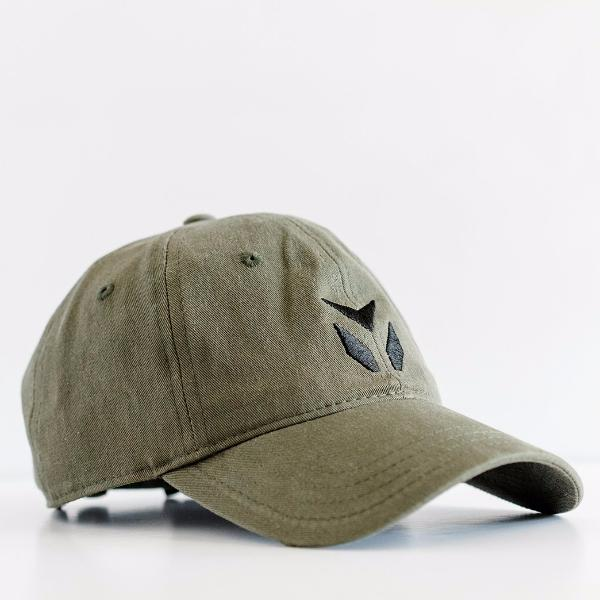 Women s Olive Cotton Twill Dad Hat with Black Embroidery – yudugear.com 92e1faf57a