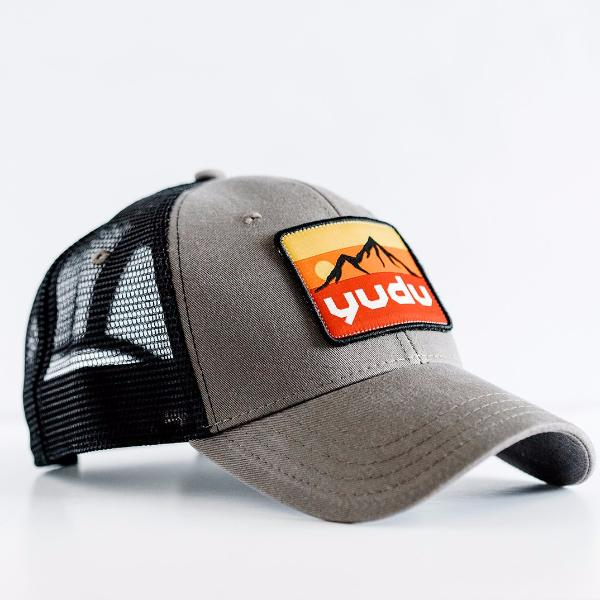 Ridge Collection - Charcoal and Black Snapback Trucker