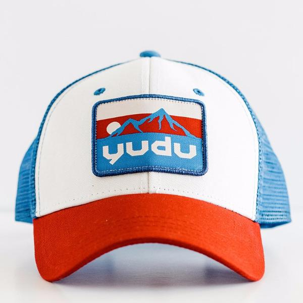 Ridge Collection - Red, White and Royal Blue Snapback Trucker