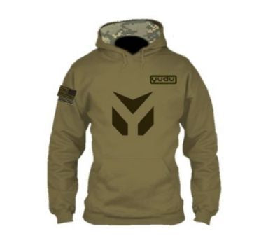 Army Green Tactical Fleece Hoodie