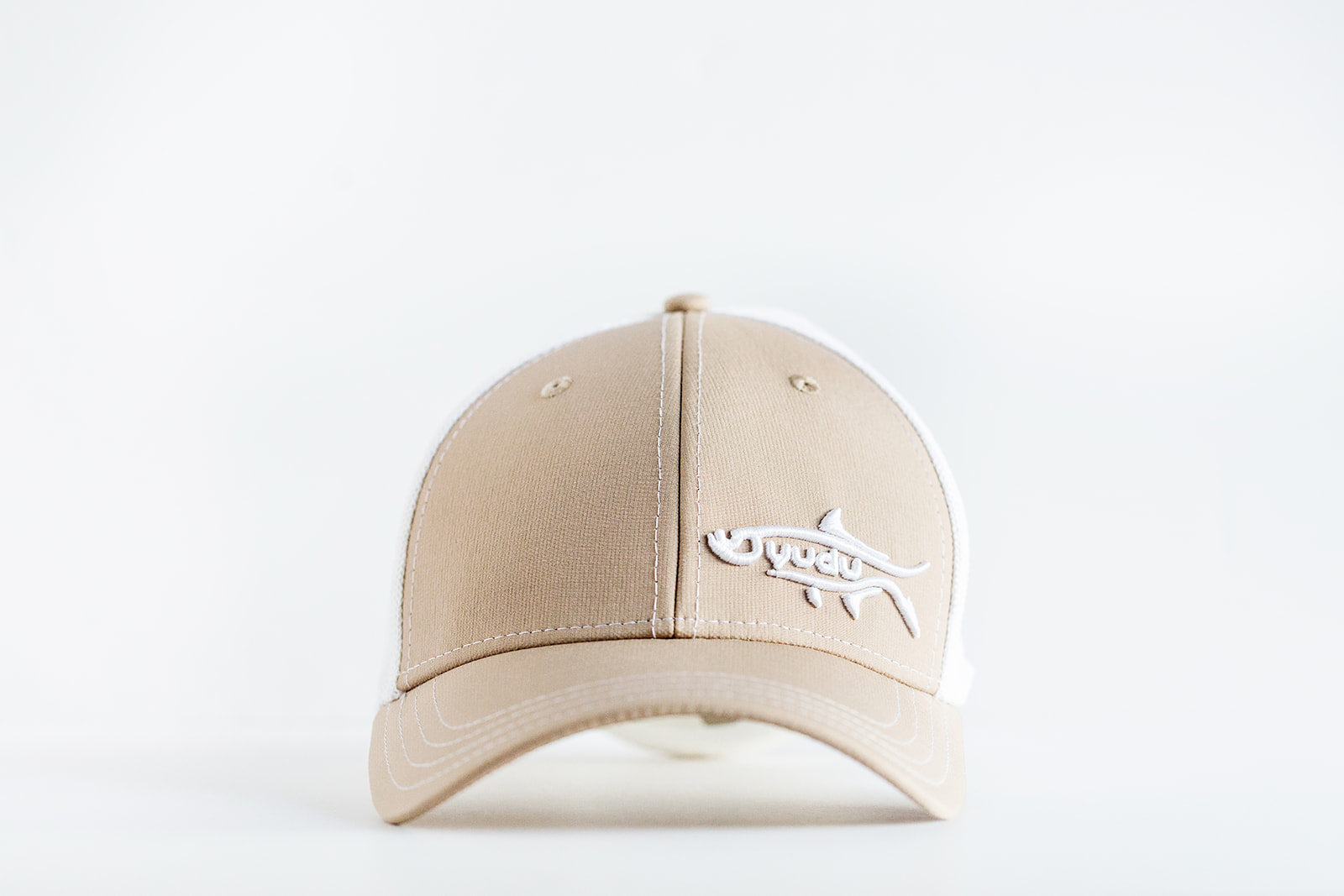 LiveWell Collection - Khaki/White Ultra-Fit Snapback Fishing Hat