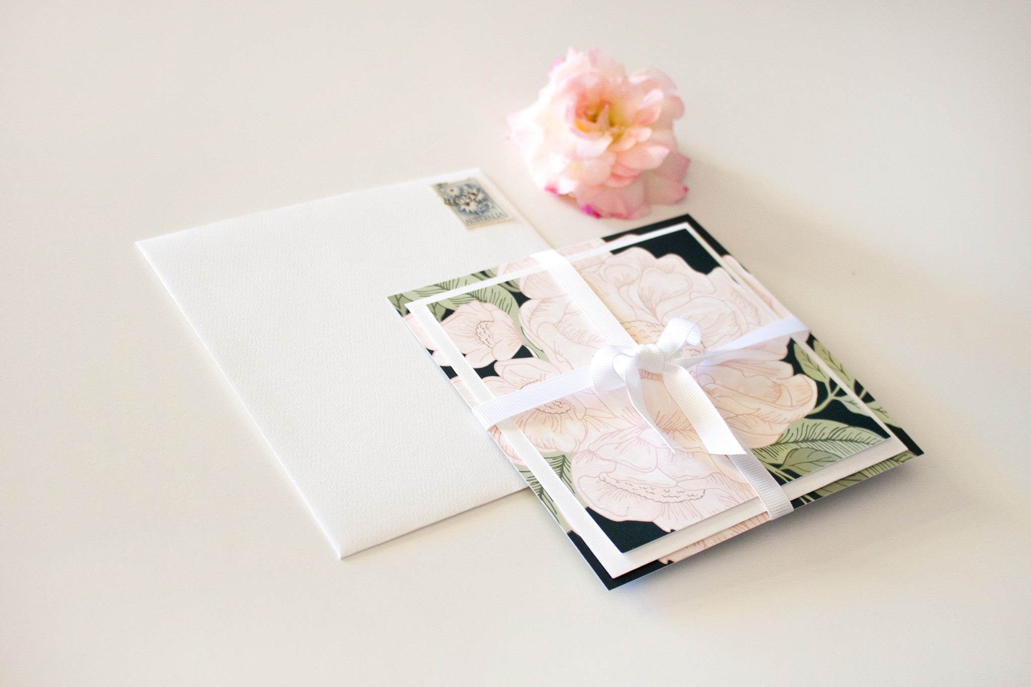 Wedding Stationery Suite | Blooms | Designed in Perth, Australia