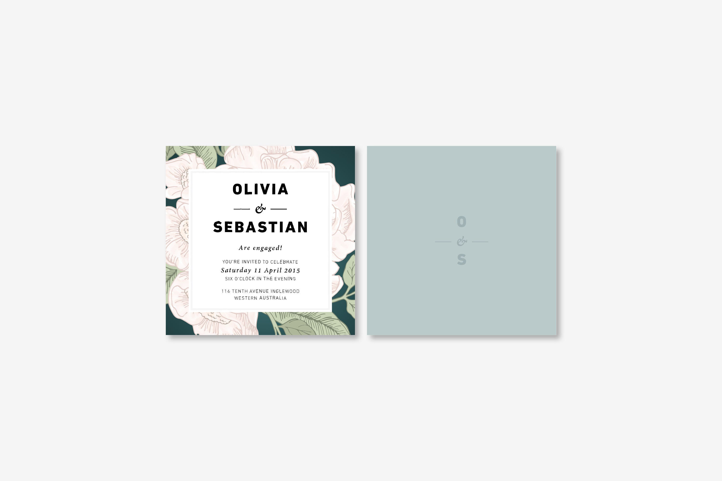 Blooms | Invitation Engagement