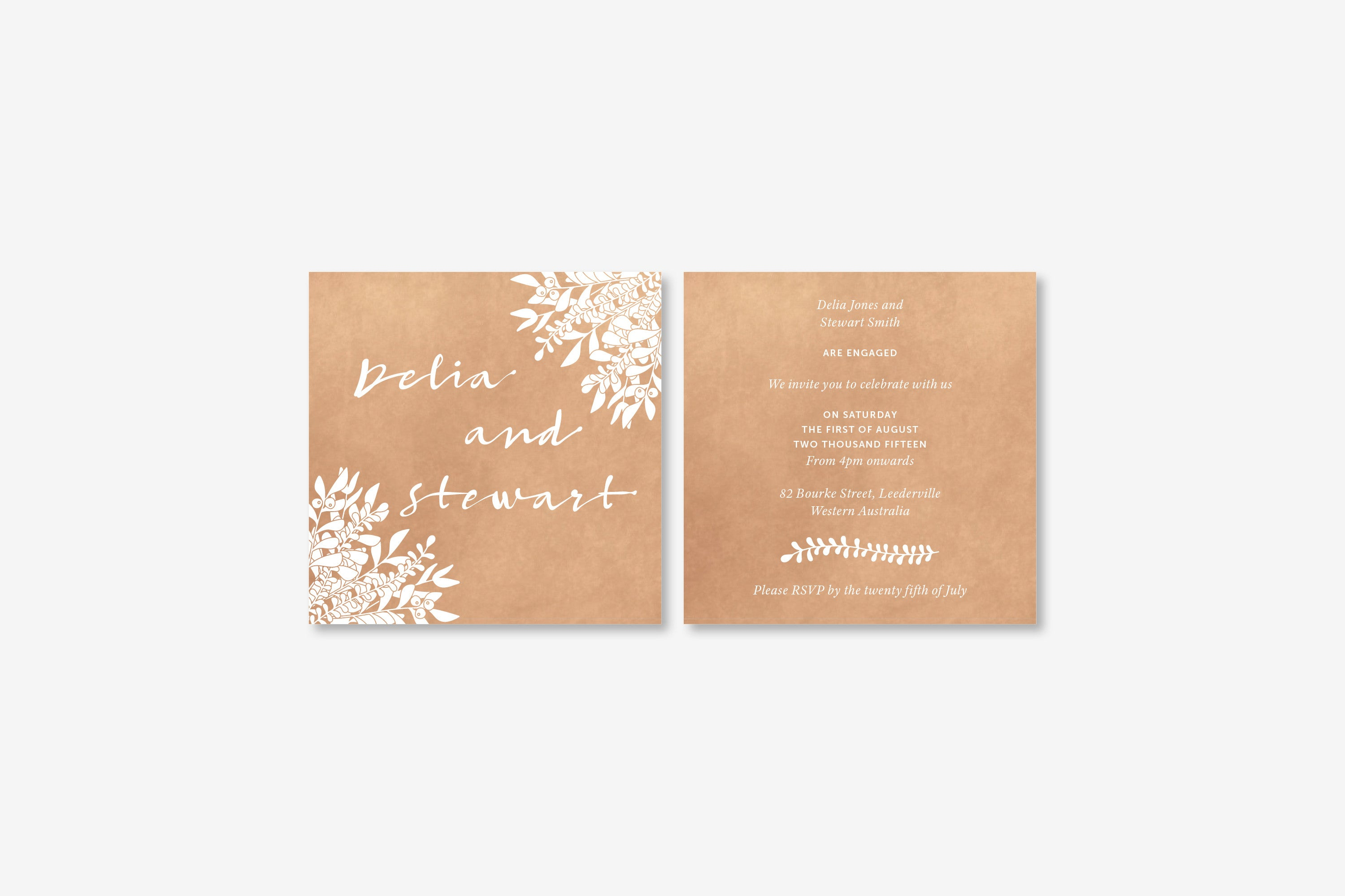 Eucalyptus | Invitation Engagement