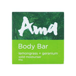 Ama Body Bar - Lemongrass & Geranium - 85g