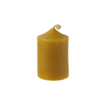 Pure Beeswax Natural Candle - Fat