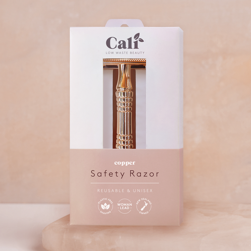 CaliWoods Rose Gold Safety Razor