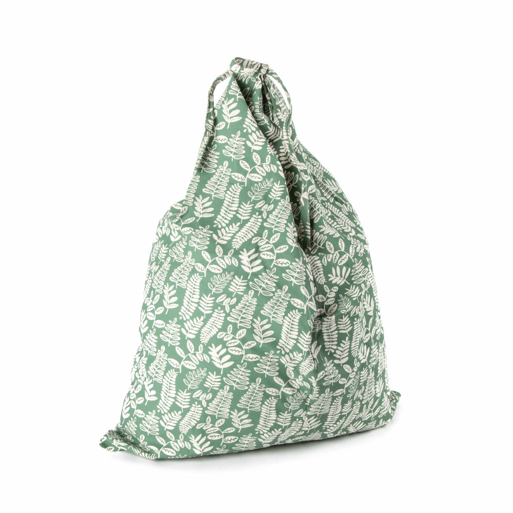 Fern Fold Up Reusable Cotton Tote Bag
