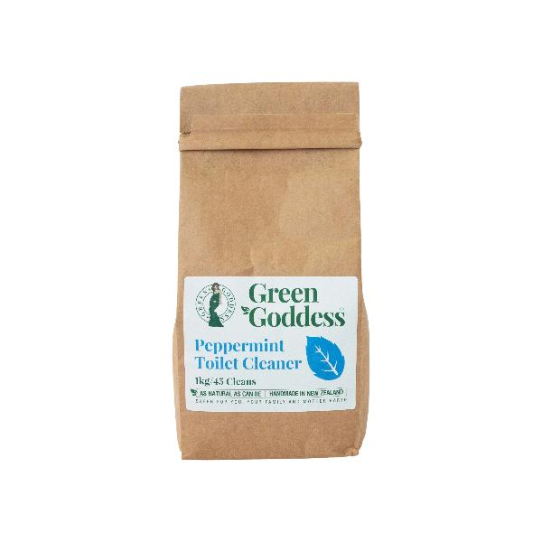 Green Goddess Natural Peppermint Toilet Cleaner - Plastic Free