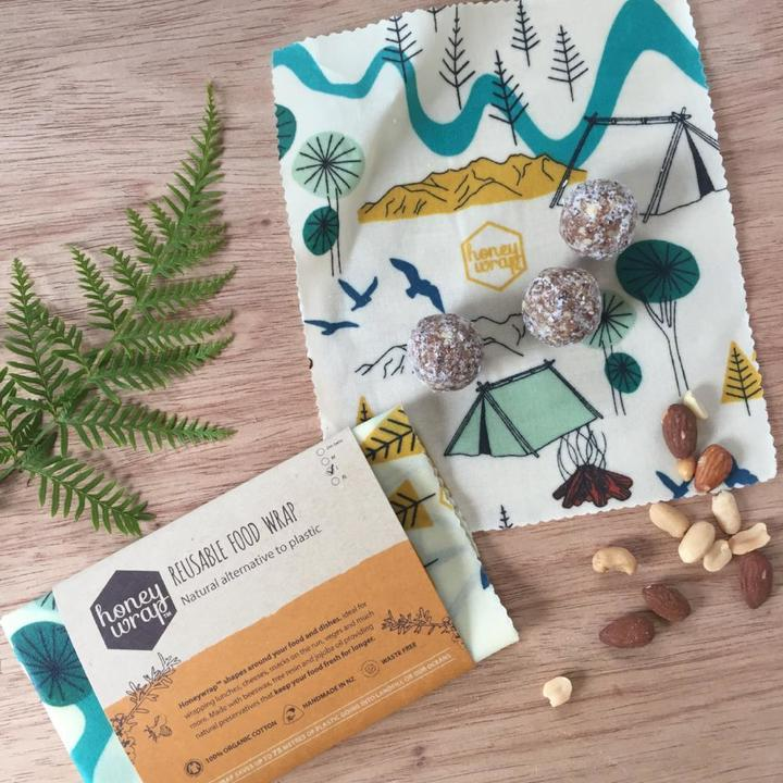 Honeywrap Small Twin Pack - Reusable Food Wrap