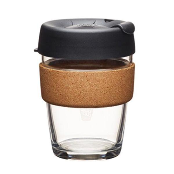 Zero Waste Reusable Glass KeepCup Cork-340ml