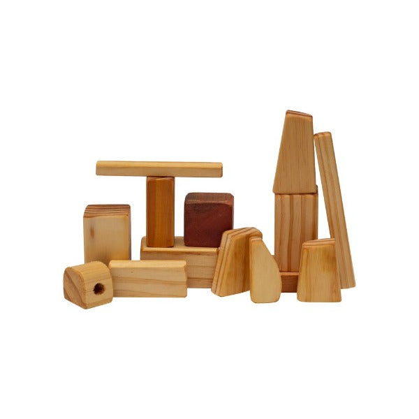 Natural Wooden Blocks - assorted sizes