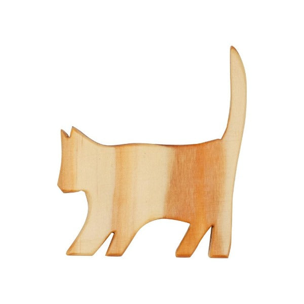 Natural Wooden Cat Toy