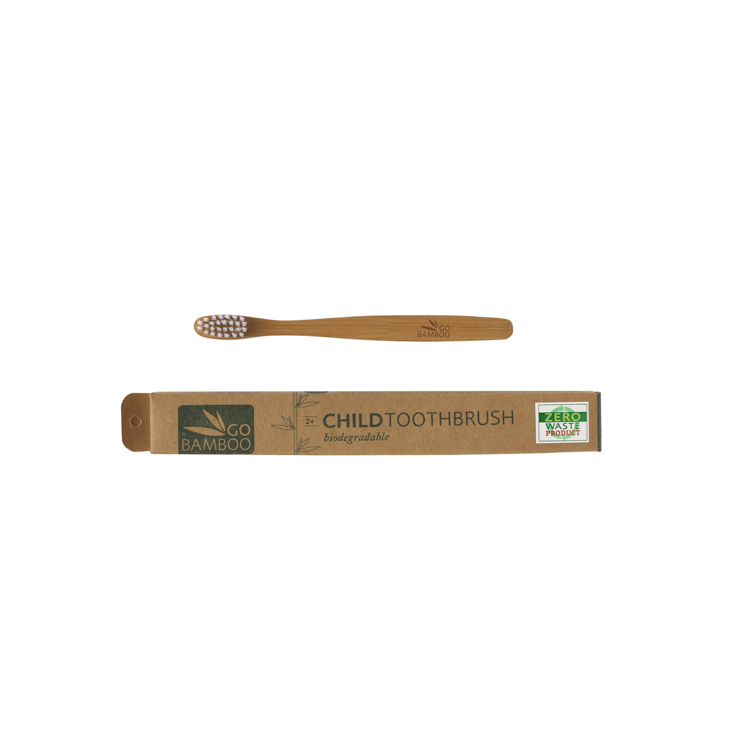 Natural Biodegradable Go Bamboo Tooth Brush – Child