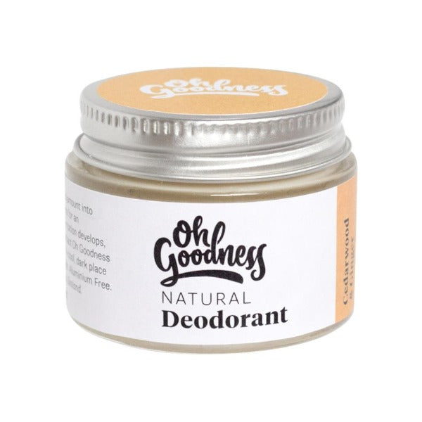 Oh Goodness Deodorant - Cedarwood & Ginger