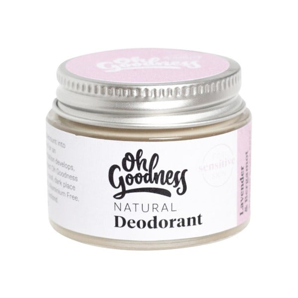 Oh Goodness Deodorant - Lavender & Bergamot - Sensitive