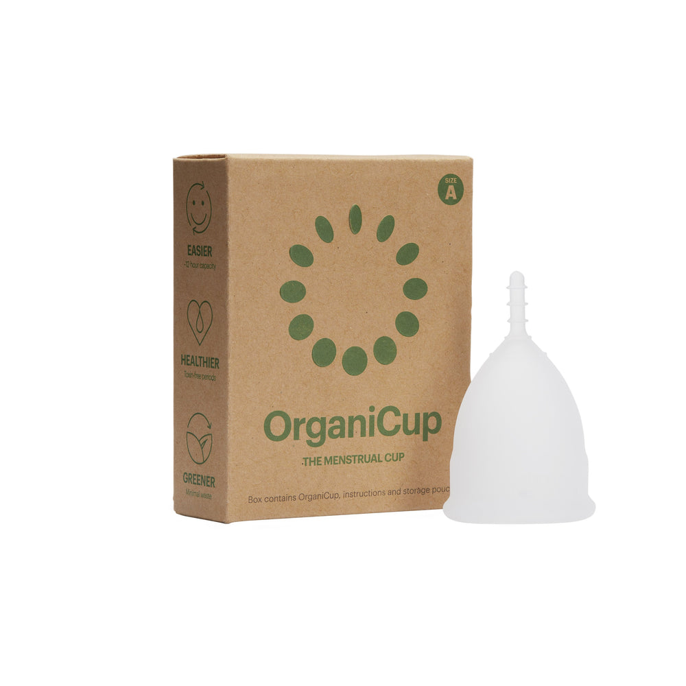 OrganiCup Reusable Menstrual Cup - Plastic Free Periods