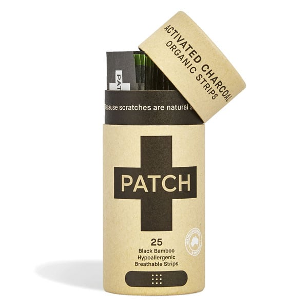 Patch Activated Charcoal Bamboo Plaster Strips -25 pack