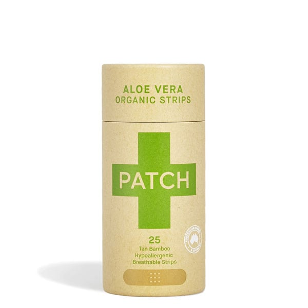 Patch Aloe Vera Bamboo Plaster Strips -25 pack
