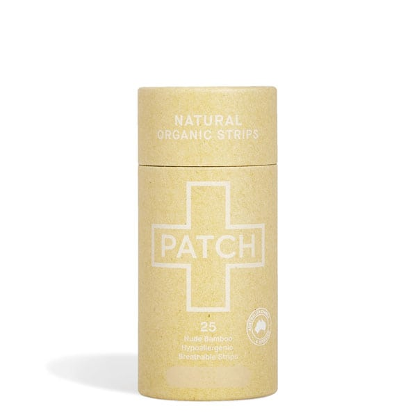 Patch Natural Bamboo Plaster Strips -25 pack