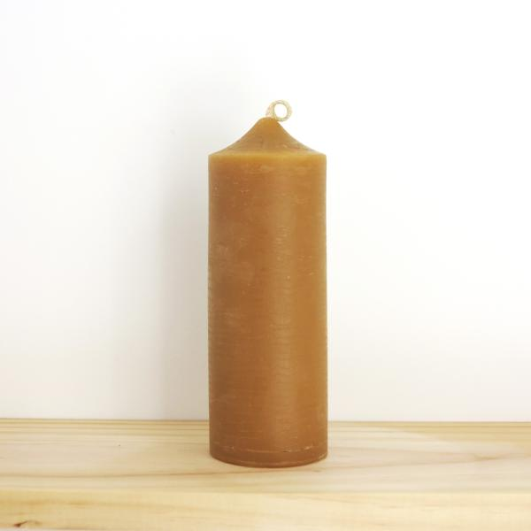 Pure Beeswax Natural Candle - Tall