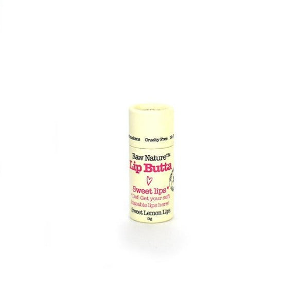 Raw Nature Organic Lip Balm - Lemon Lips