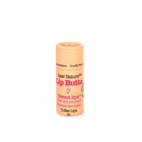 Raw Nature Organic Lip Balm - Toffee