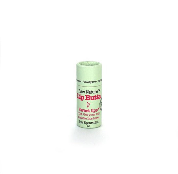 Raw Nature Organic Lip Balm - Raw Spearmint