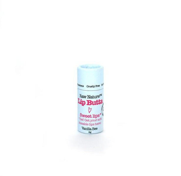 Raw Nature Organic Lip Balm - Vanilla Bee