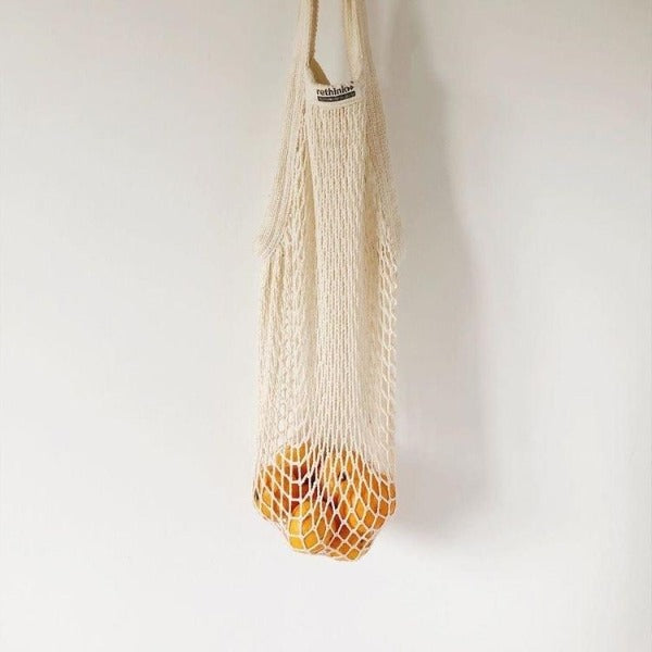 Rethink Natural Cotton String Bags