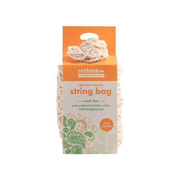 Rethink Cotton String Shopping Bag - Short Handle