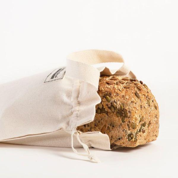 Bread Storage Bag Organic Cotton NZ