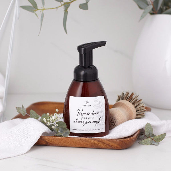 Santosa Foaming Hand Wash Peppermint + Eucalyptus - 250ml