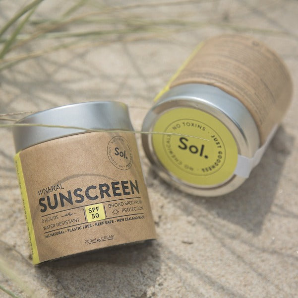 Sol Natural Mineral SPF 50 Sunscreen - 200g